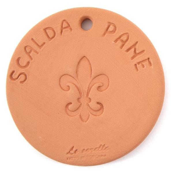 UASHMAMA Scaldapane Terracotta Round Terracotta