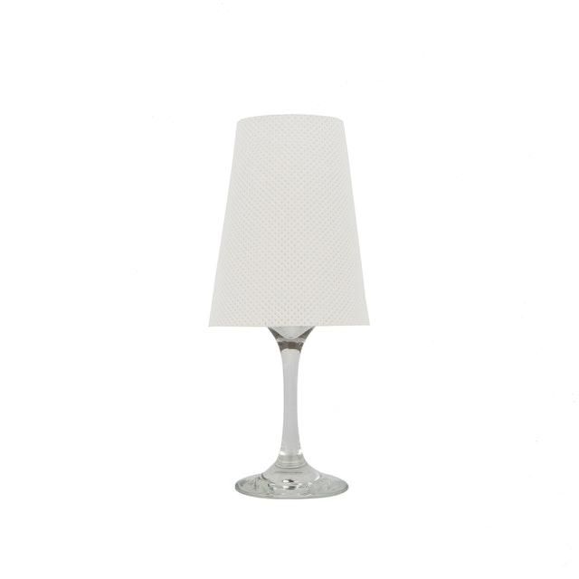 UASHMAMA Lampshade Perforated Large White