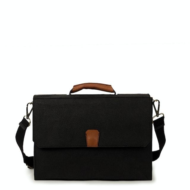 UASHMAMA Gaia Bag Large  Black