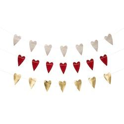 UASHMAMA Box Set Garland Heart