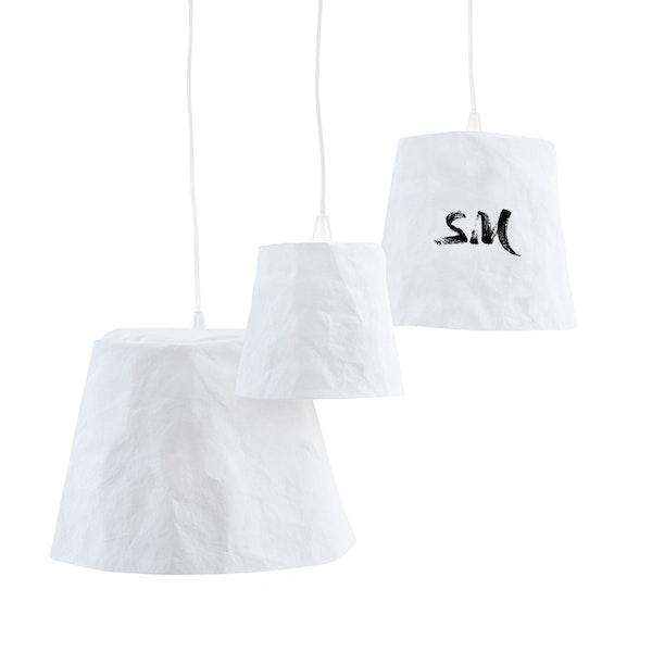UASHMAMA Paniere Lamp Small White