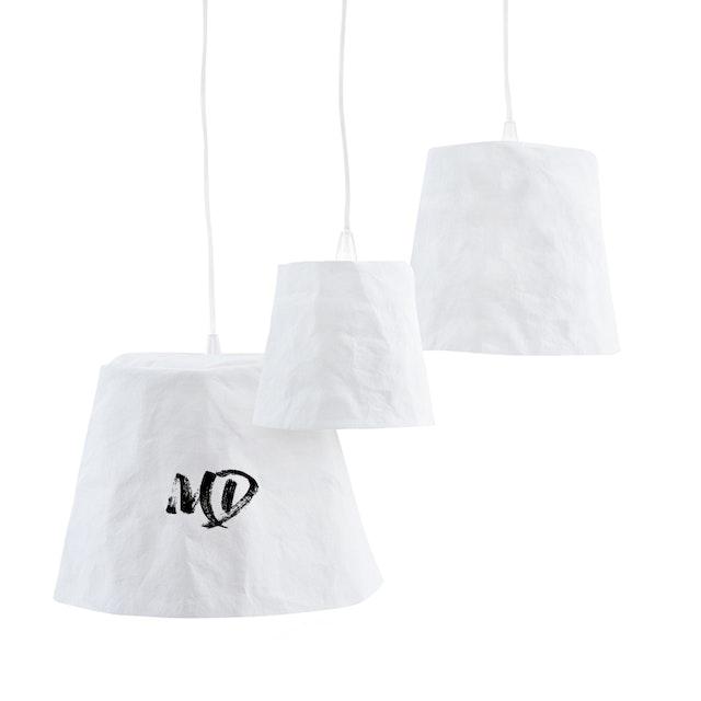UASHMAMA Paniere Lamp Medium White