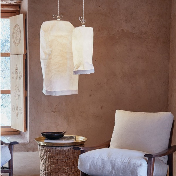 UASHMAMA Hanging Lamp Large White