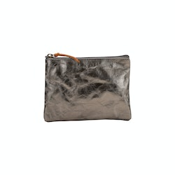 UASHMAMA Gimi Purse Medium Metallic Metallic Peltro