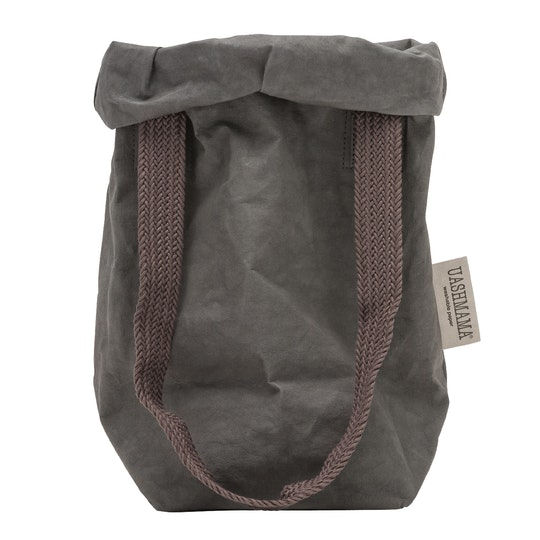 UASHMAMA Carry Two Small Dark Grey