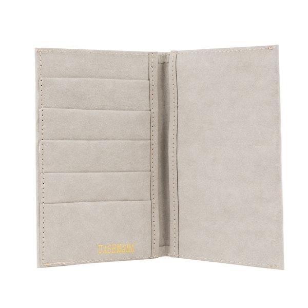 UASHMAMA Wallet Large Grey