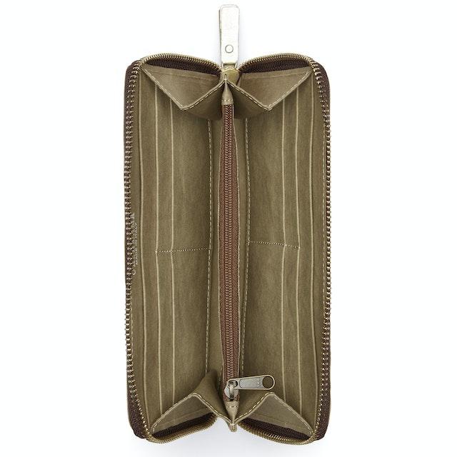 UASHMAMA Vita Wallet Large Olive