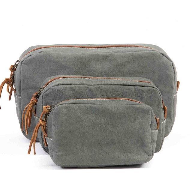 UASHMAMA Beauty Case Large Dark Grey