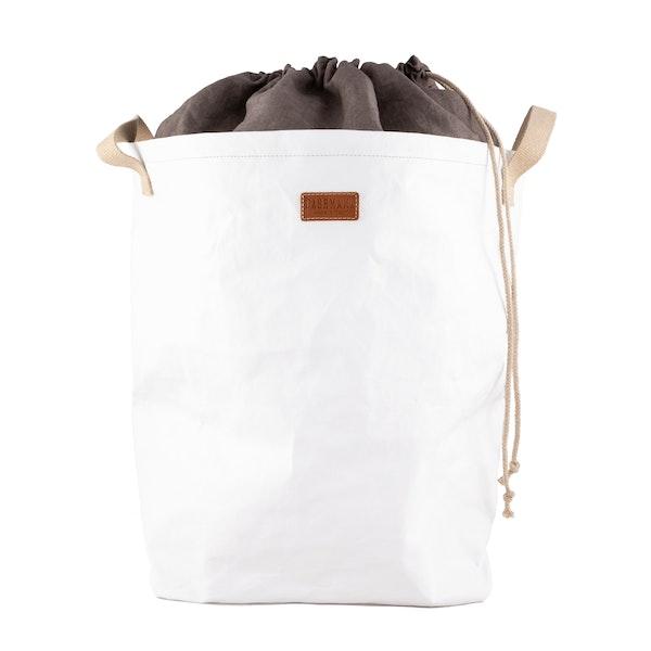 UASHMAMA Positano Laundry Linen  White