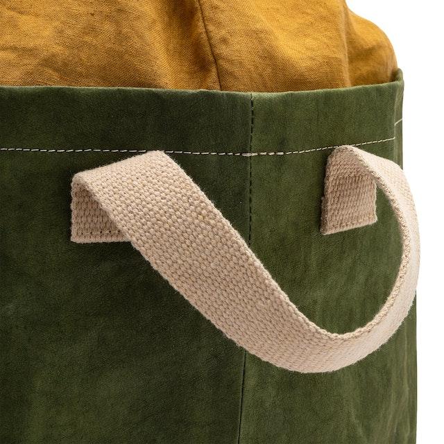 UASHMAMA Positano Laundry Linen  Forest