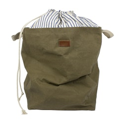 UASHMAMA Positano Laundry Striped Cotton Olive