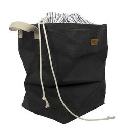 UASHMAMA Positano Laundry Striped Cotton Black