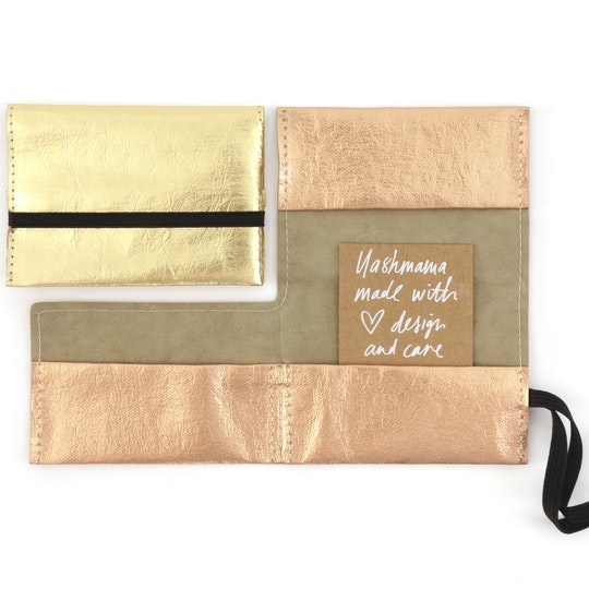 UASHMAMA Card Holder Metallic