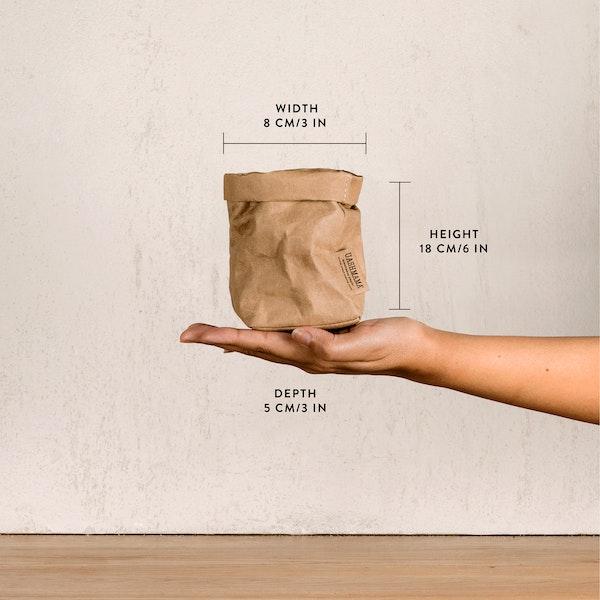 UASHMAMA Paper Bag Metallic Piccolo