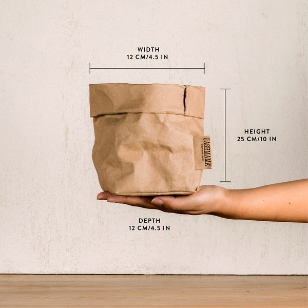 UASHMAMA Paper Bag Metallic Small