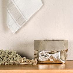 UASHMAMA Paper Bag Metallic Medium