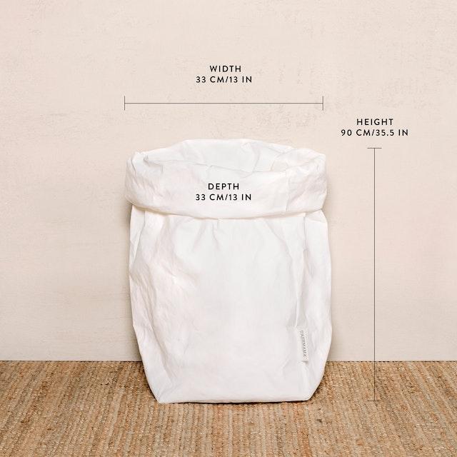 UASHMAMA Paper Bag Metallic XXLarge