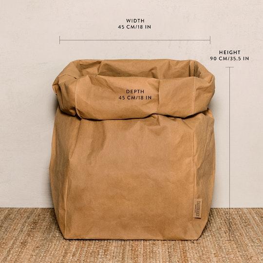 UASHMAMA Paper Bag Metallic Gigante