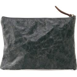 UASHMAMA Gimi Purse Large  Dark Grey