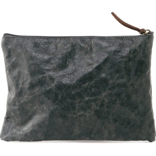 UASHMAMA Gimi Purse Large  Dark Grey