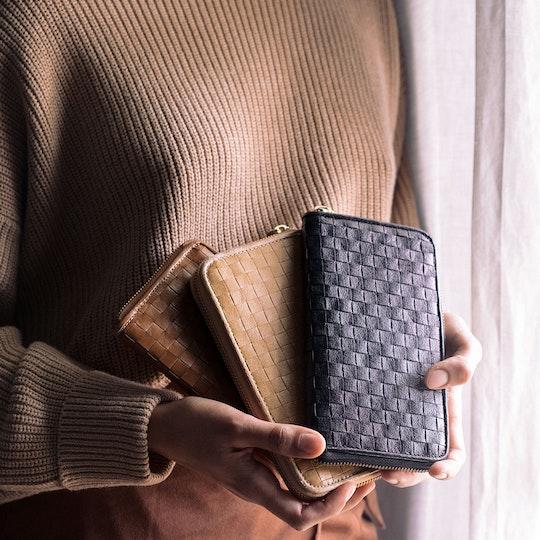 Vita Wallet Large Intrecciato