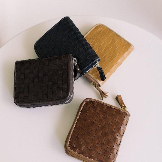 Vita Wallet Small Intrecciato