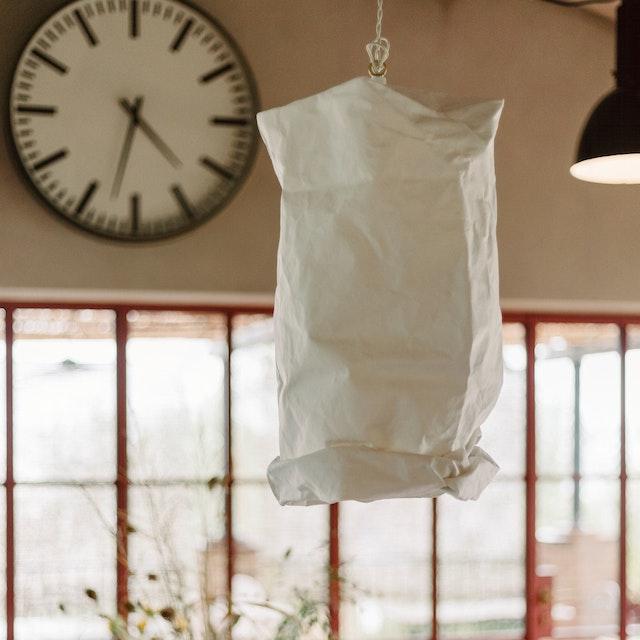 Hanging Lamp Large White