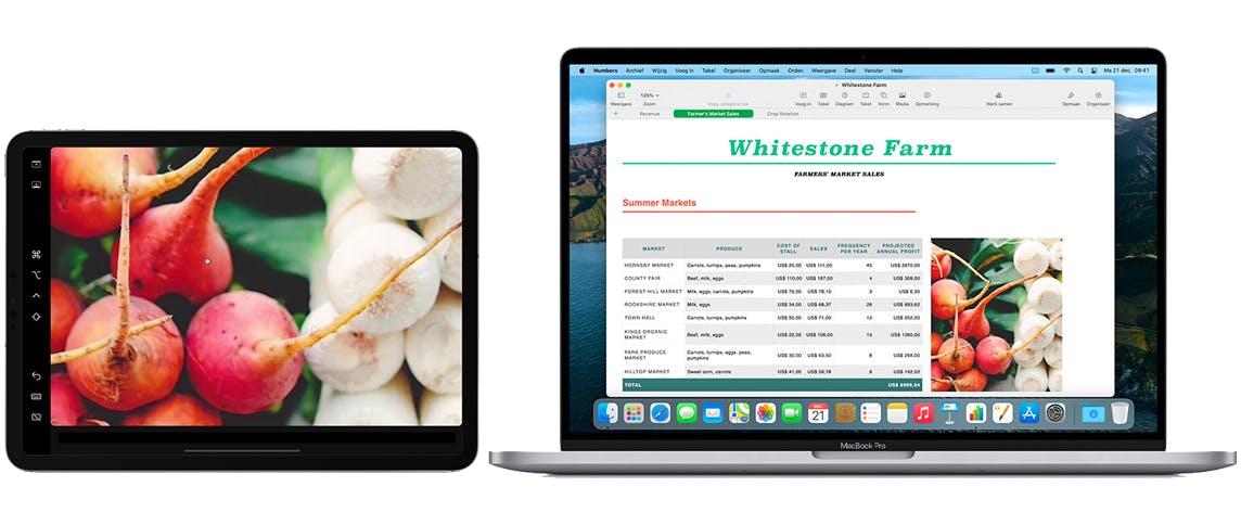 Mac en iPad een krachtig stel