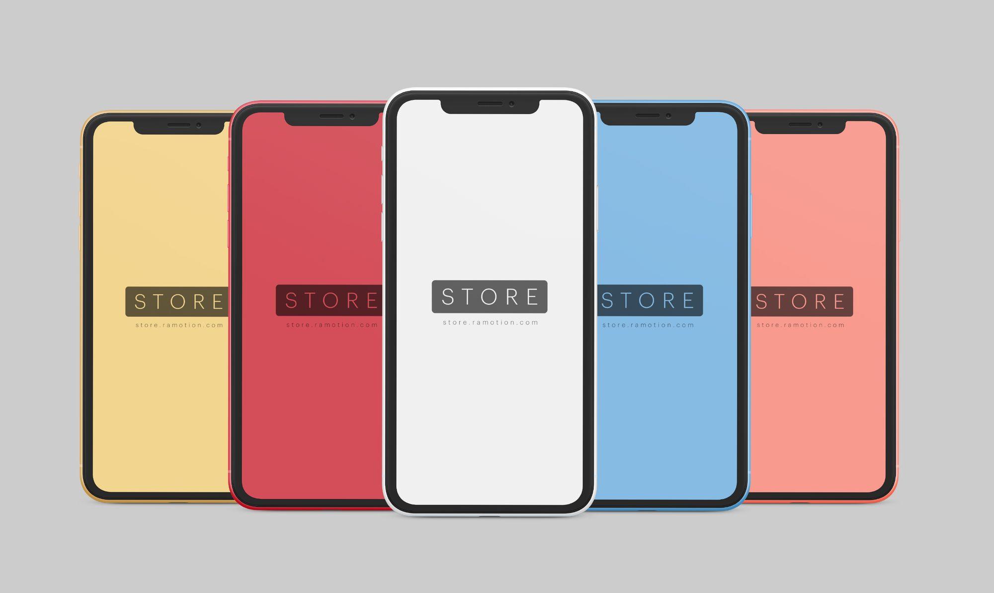 iPhone X Mockup [PSD, Sketch]