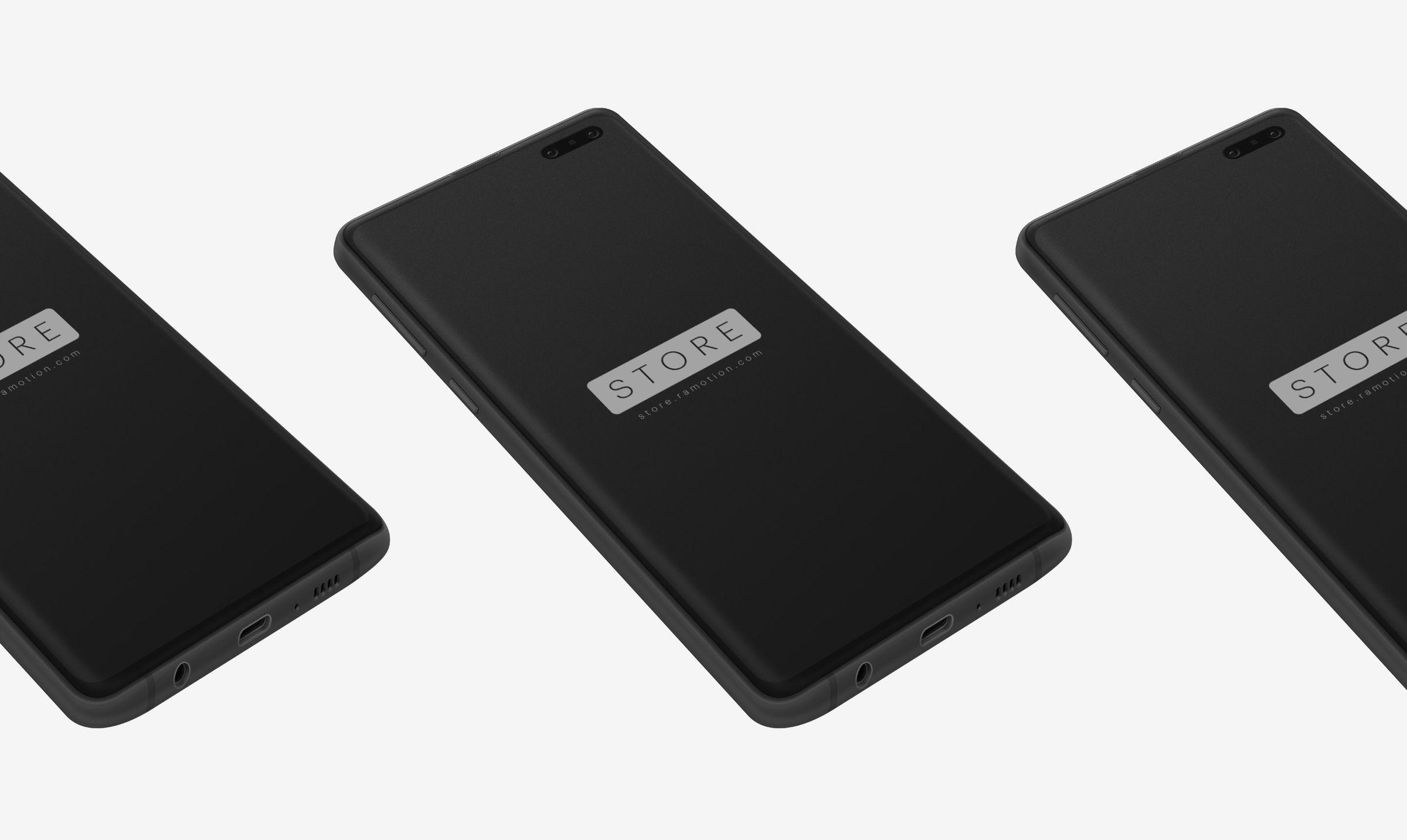 Android Galaxy Mockups