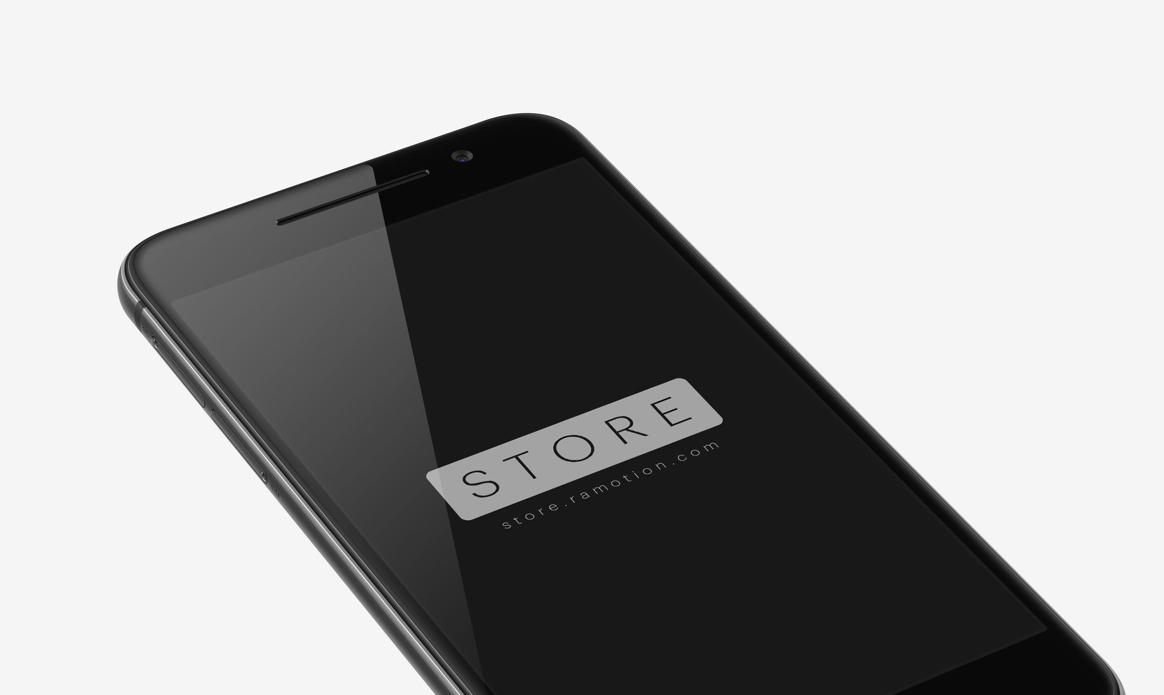 htc one perspective mockup