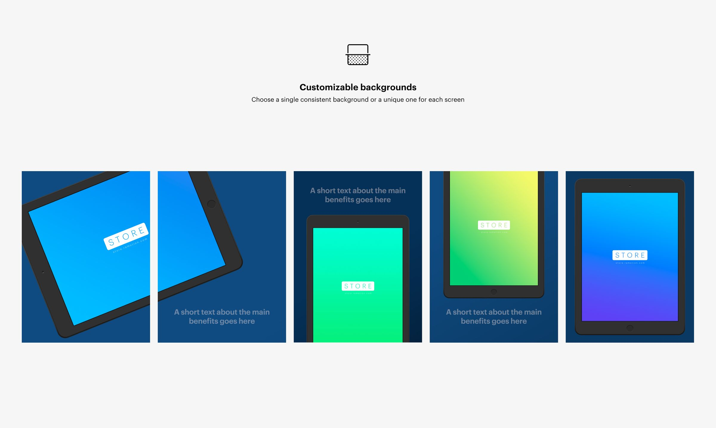 ipad app store screenshots