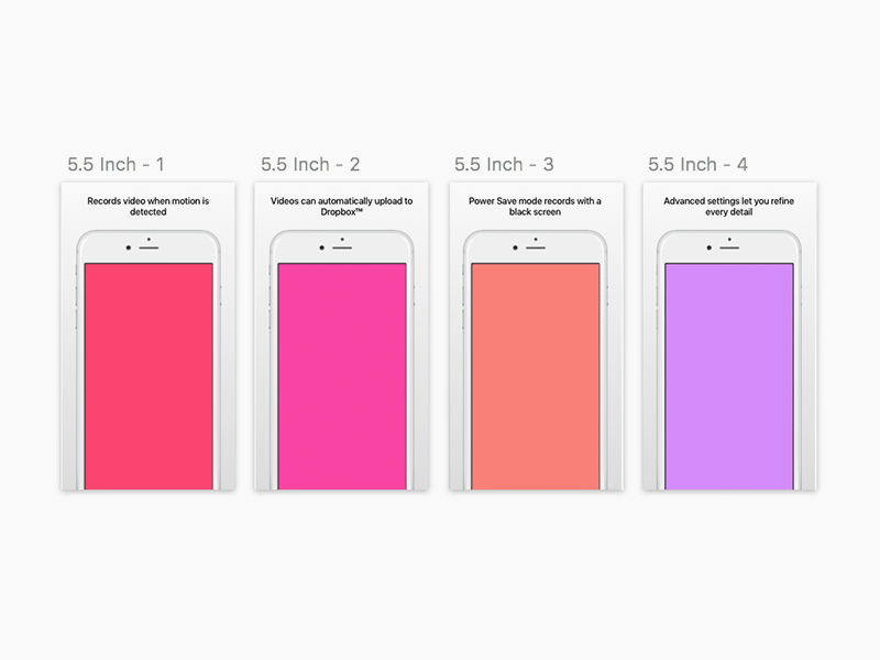 app store templates for sketch