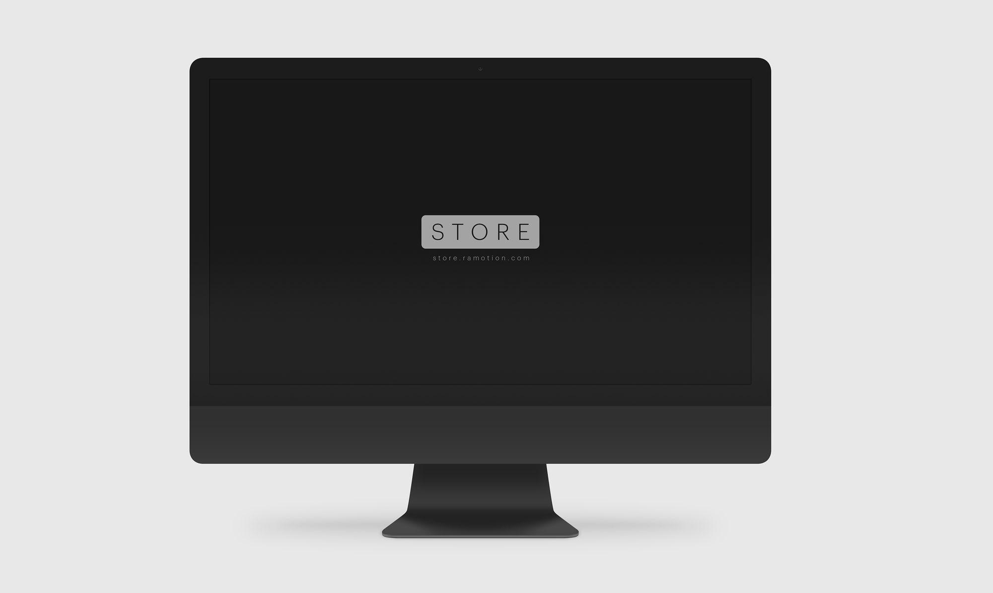Free iMac Mockup [PSD, Sketch]
