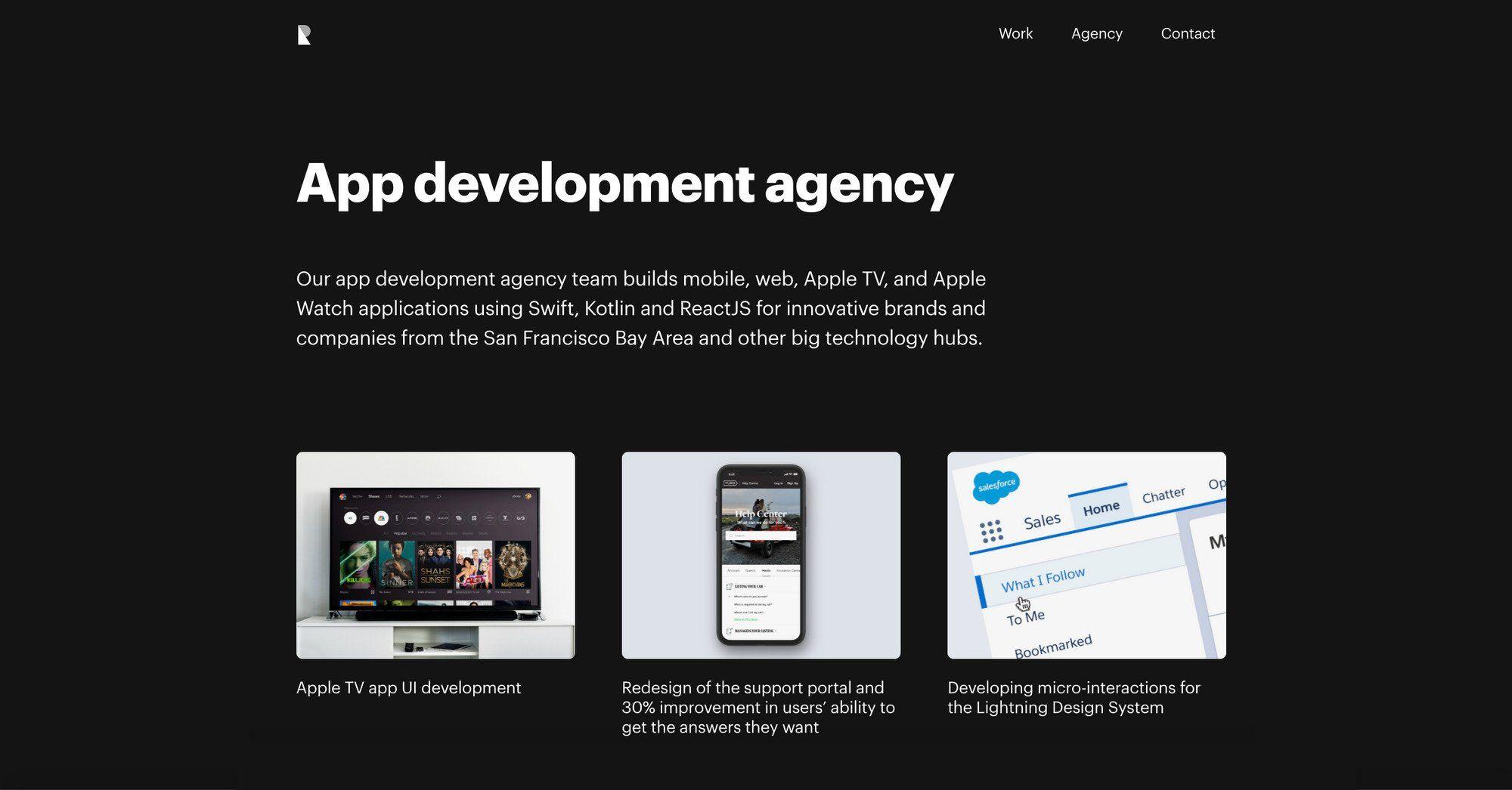 app development agency