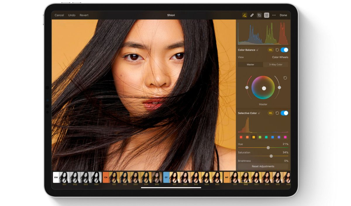 iPad mockup pixelmator