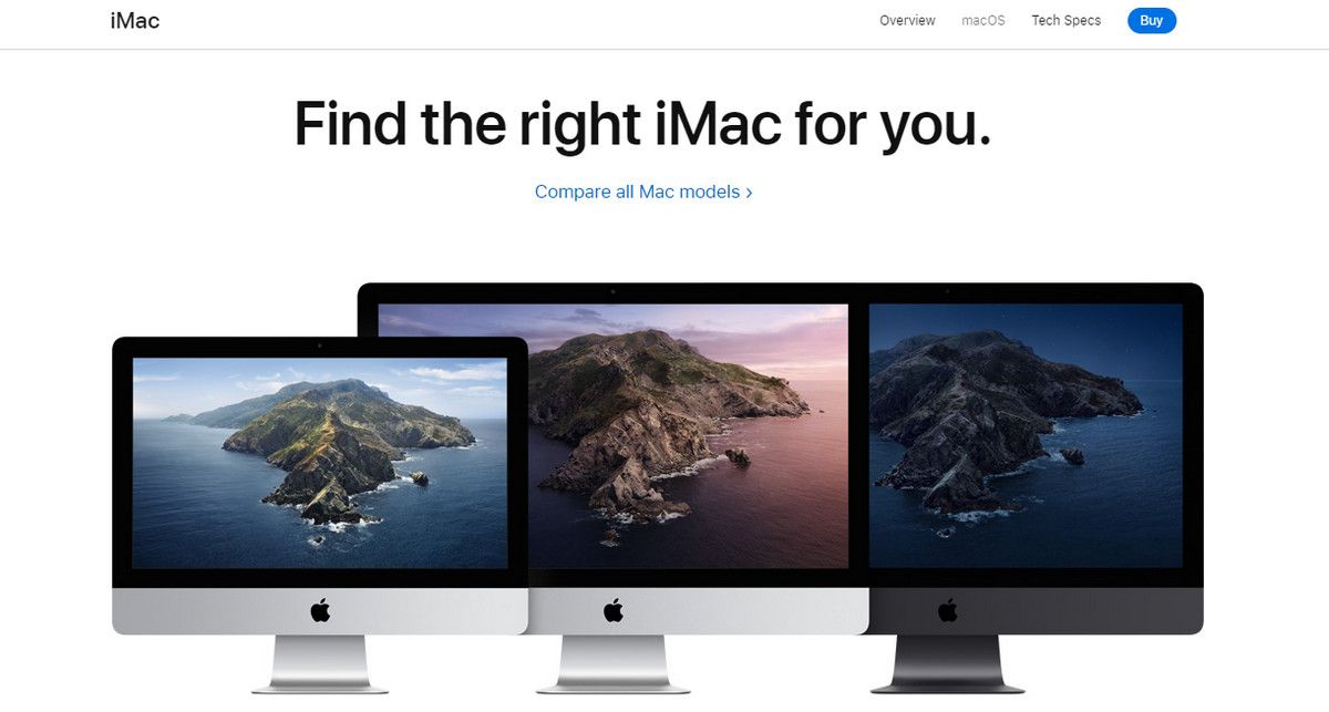 How to use iMac mockups in marketing materials
