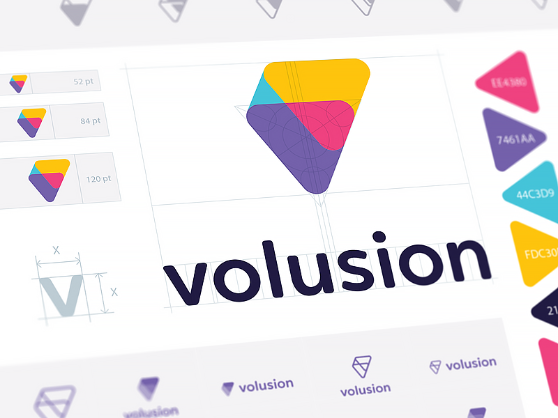 Volusion logo grid