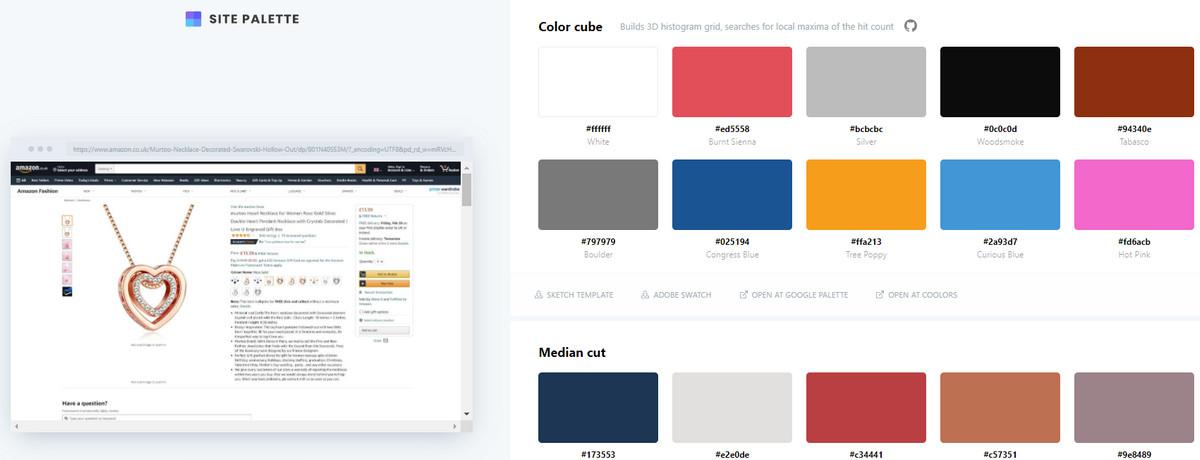 Amazon Color Scheme