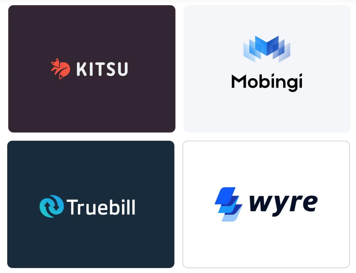 tech startup logos