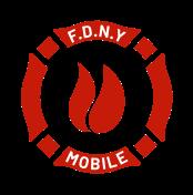 FDNY mobile app concept logo