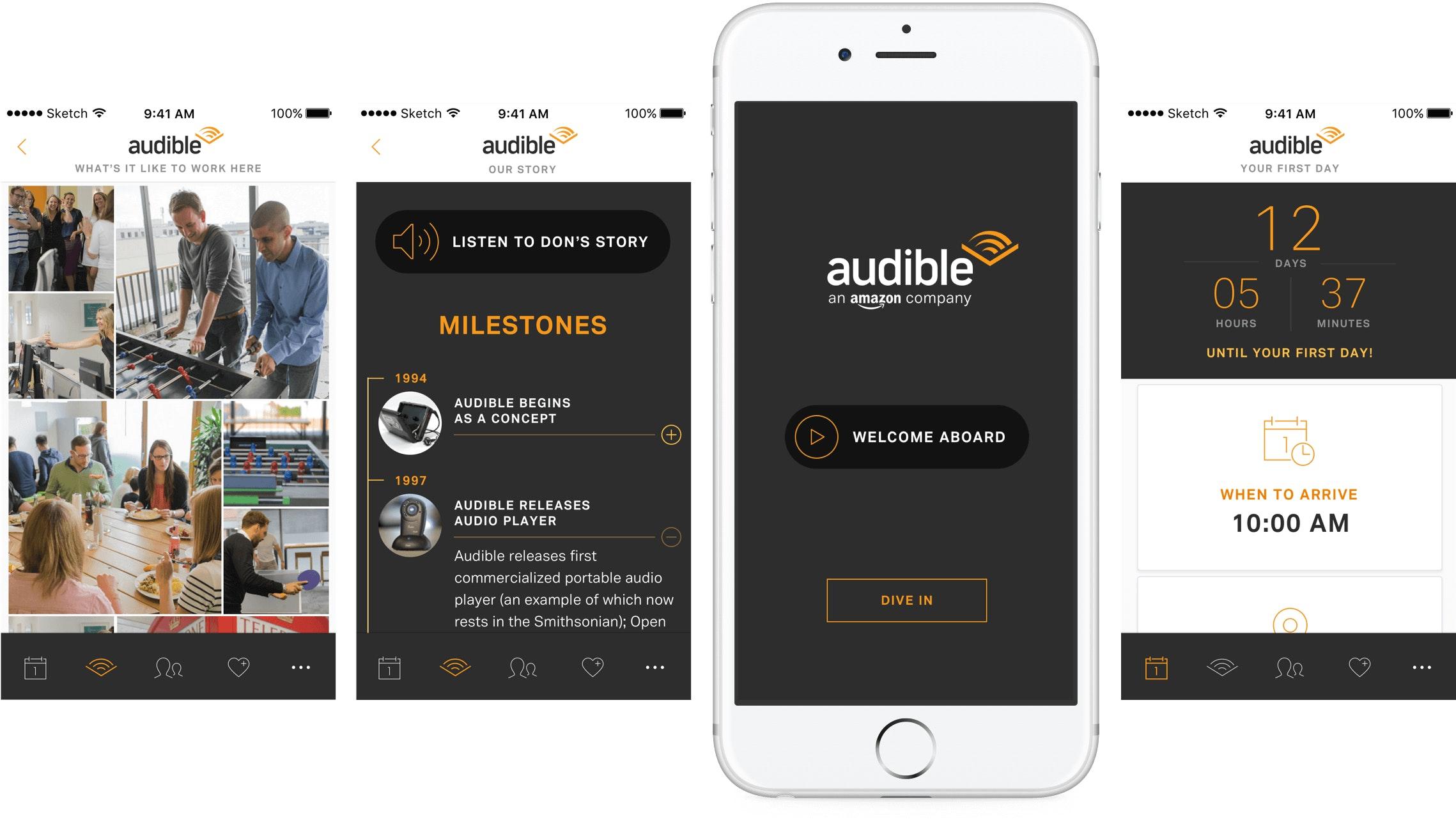 audible-onboarding-app-happyfuncorp