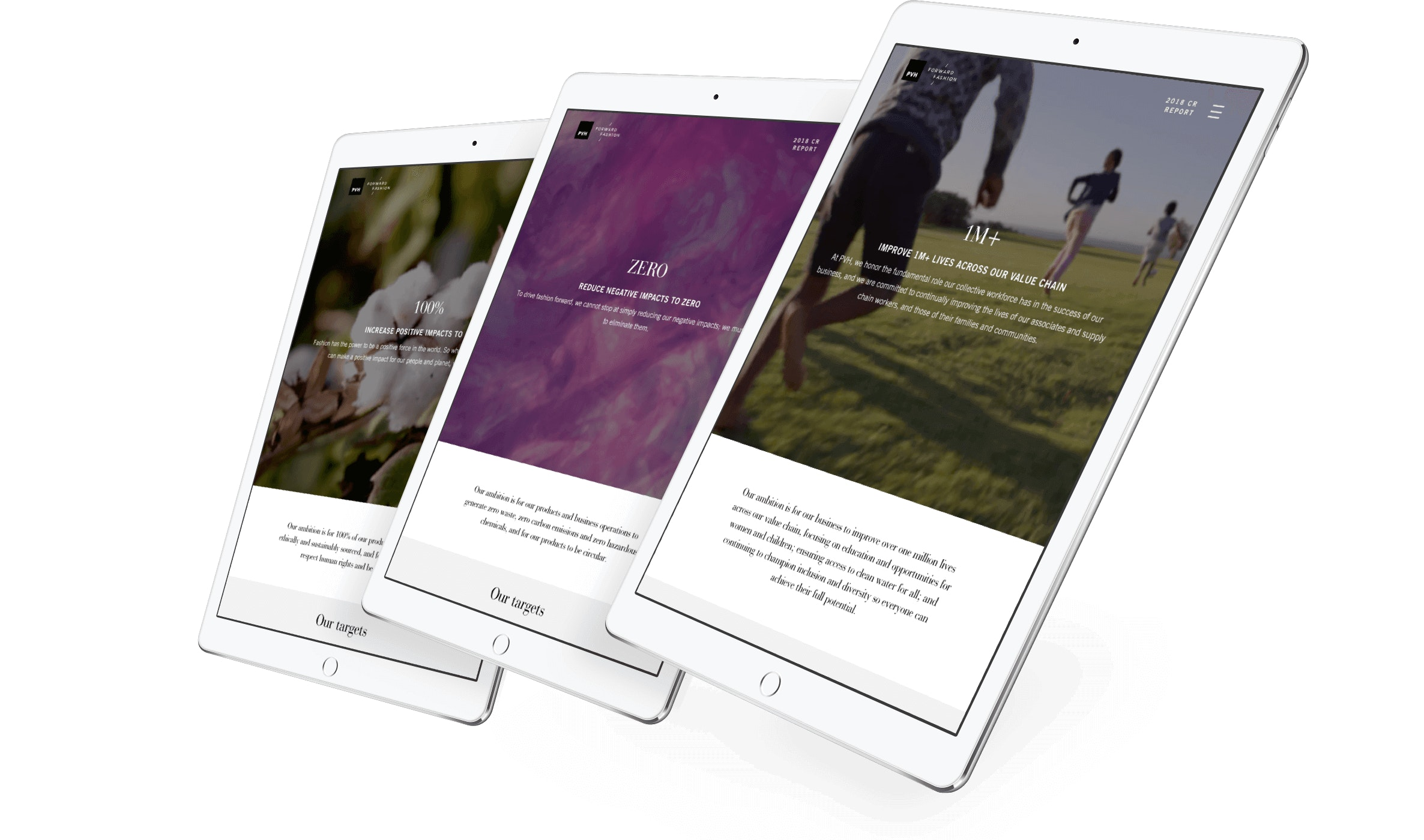 PVH on iPad