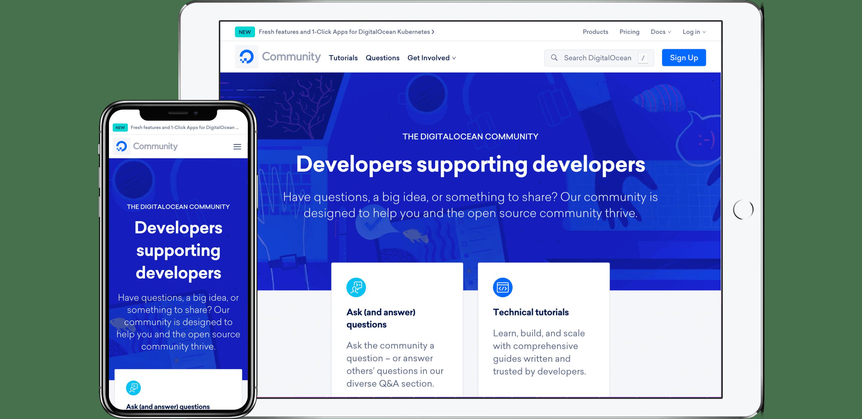 Digital Ocean Community Page