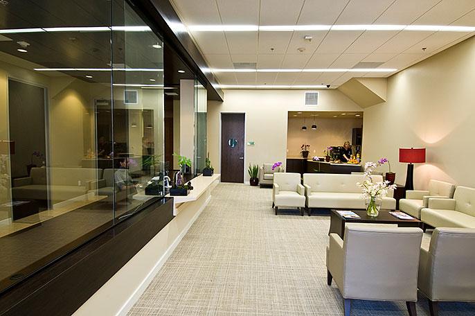 Beverly Hills Cancer Center lobby