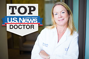 Beverly Hills Cancer Center Breast cancer specialist Dr. Linnea Chap was named one of America's top doctors