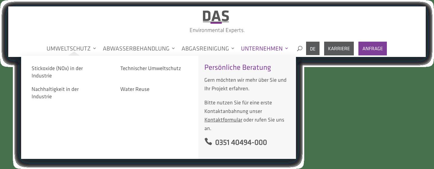 Die neue Navigation der DAS