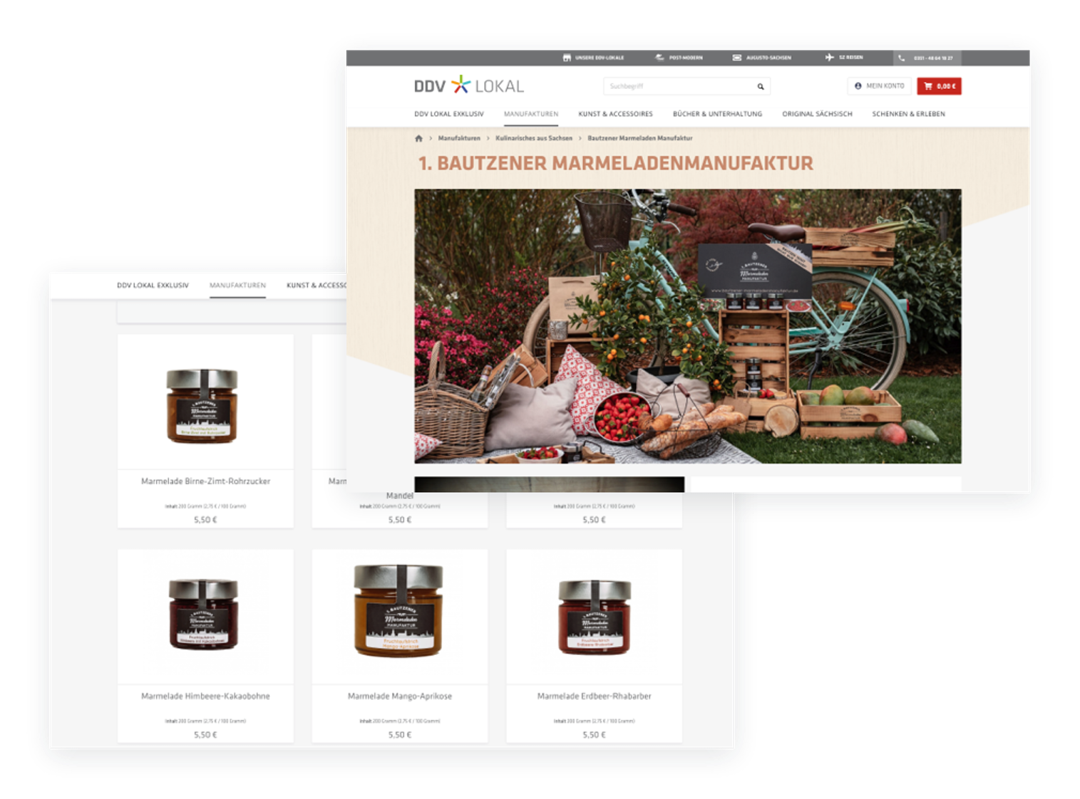 Produktseite DDV Lokal