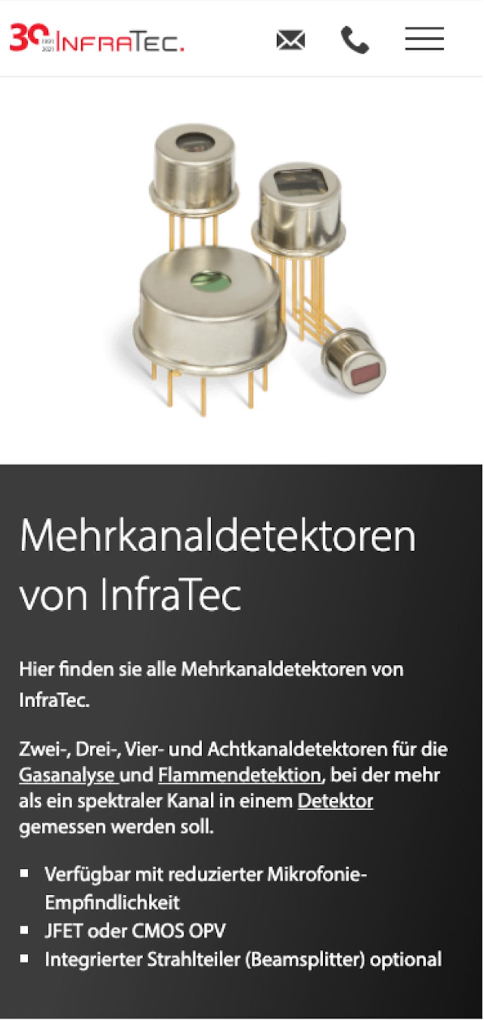 Produktseite mobil