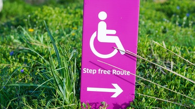 step free access sign